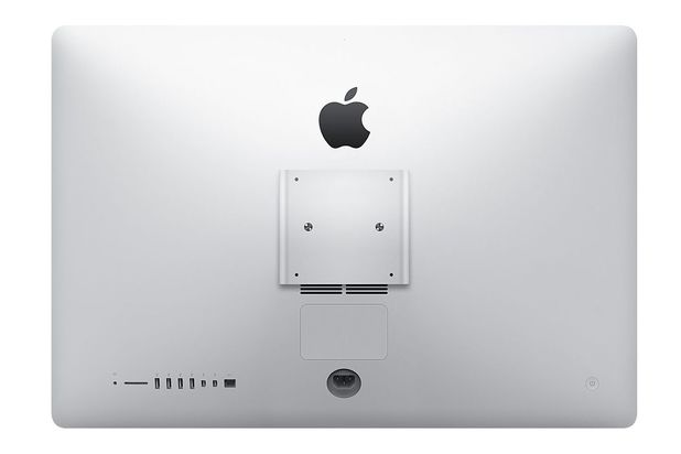 Apple iMac with built-in VESA mount