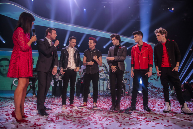 One Direction perform their Comic Relief single 'One Way or Another'