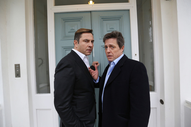 David Walliams and Hugh Grant