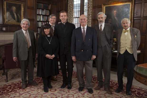 'The Vicar Of Dibley' cast