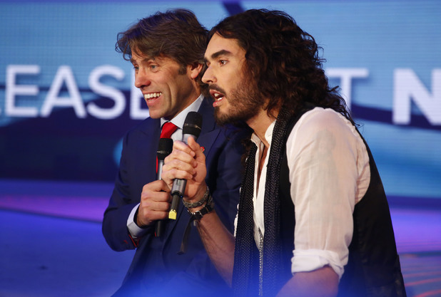 John Bishop and Russell Brand