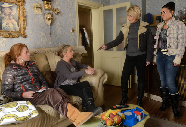 Shirley heads over to the Butchers to tell Bianca what has happened.