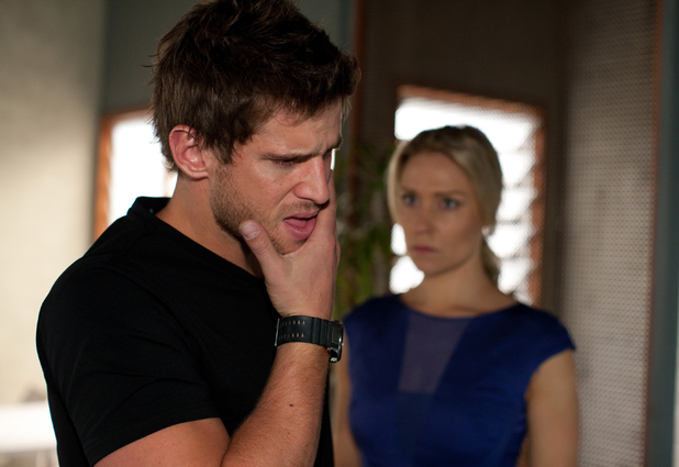 Heath is shocked by Bianca's outburst.