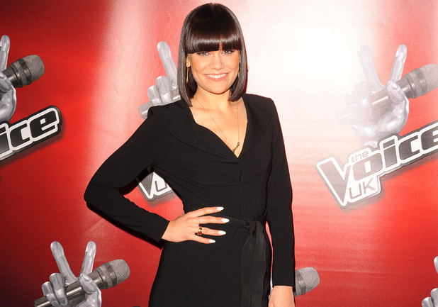 Coach Jessie J at the launch of latest series for the BBC talent show, The Voice, at the Soho Hotel in London. 
