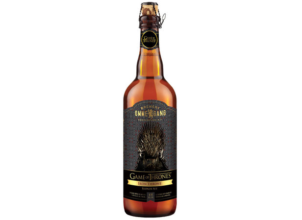Ommegang bottle of Game of Thrones beer