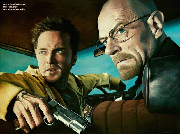 Breaking Bad painting