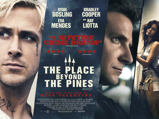 'The Place Beyond the Pines' UK poster
