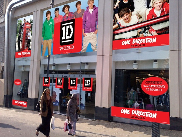 One Direction to launch 1D World store in Leeds for three weeks
