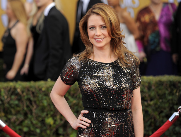 Jenna Fischer at the 19th Screen Actors Guild (SAG) Awards, January 2013