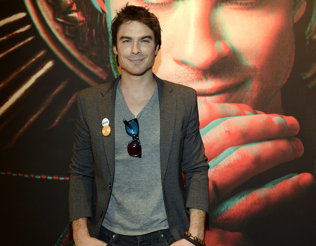 Ian Somerhalder poses at the Warner Brothers TV 2013 SXSW party on March 10, 2013 in Austin, Texas