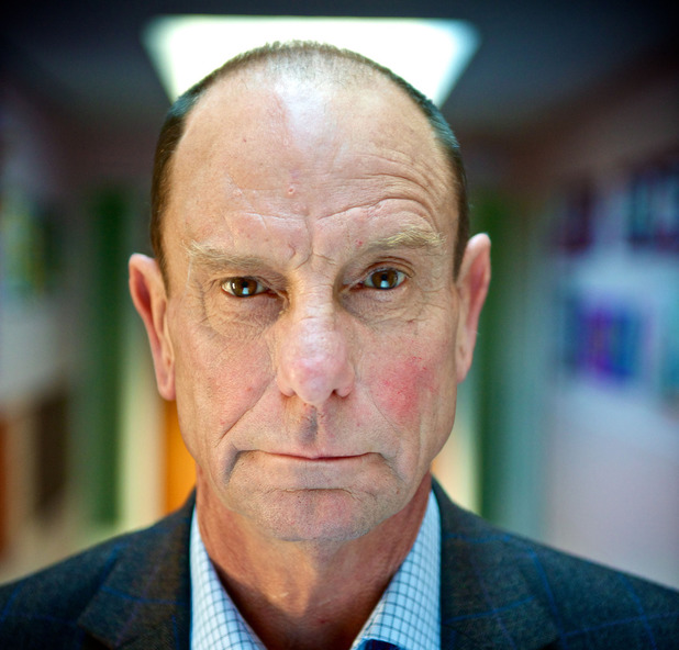 Philip Martin Brown as Grantly Budgen in Waterloo Road