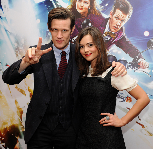 Matt Smith, Jenna-Louise Coleman, Doctor Who, screening