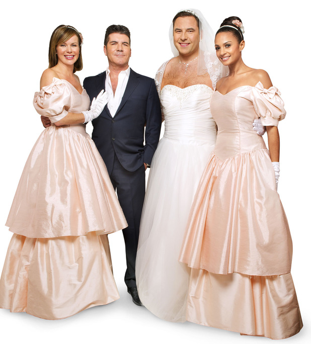 Amanda Holden, Simon Cowell, David Walliams, Alesha Dixon