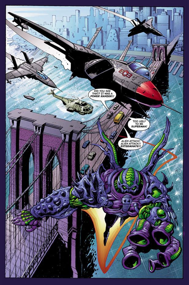 Interior artwork from 'Sharky'