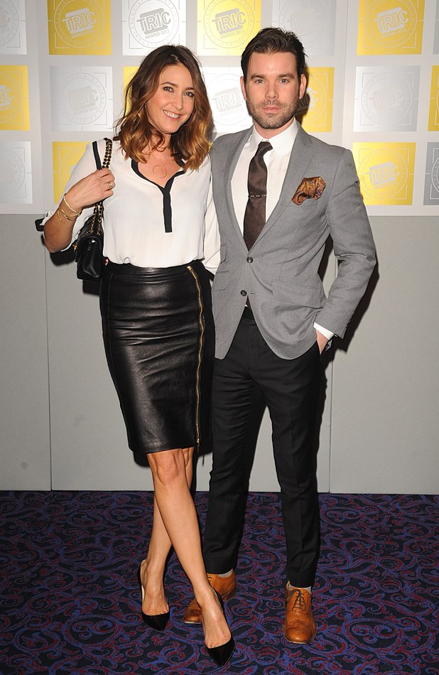 Lisa Snowdon, Dave Berry, TRIC Awards 2013