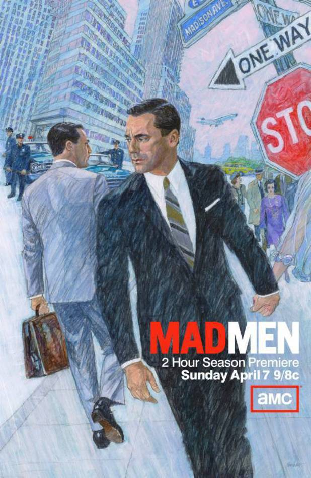 Mad Men season six poster
