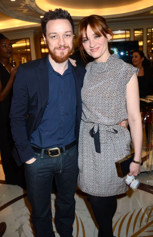James McAvoy and Anne-Marie Duff, The South Bank Sky Arts Awards, London