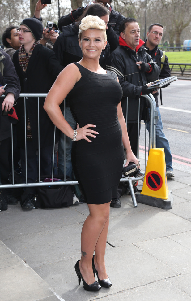Kerry Katona, TRIC Awards 2013
