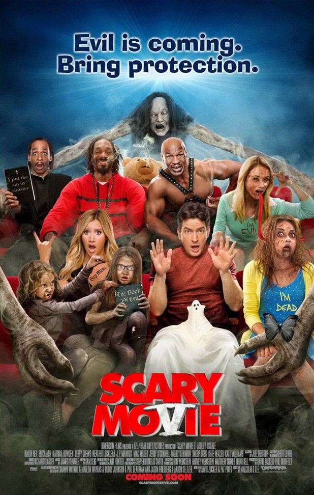 &#39;Scary Movie 5&#39; poster