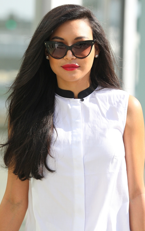 Naya Rivera out and about in Los Angeles.