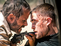 Robert Pattinson and Guy Pearce in 'The Rover'