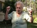 Clip of 88-year-old grandmother dancing has been viewed over a million times.