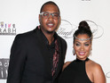 "The presenter says ""everything is wonderful"" with husband Carmelo Anthony."