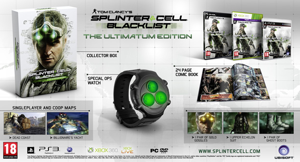 Splinter Cell: Blacklist Ultimatum Edition