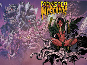 'Monster Massacre' cover
