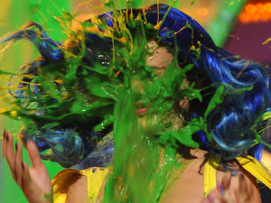Katy Perry, Nickelodeon Kid's Choice Awards 2010, slimed