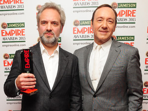 Sam Mendes who won the Empire Inspiration award which was presented by Kevin Spacey.