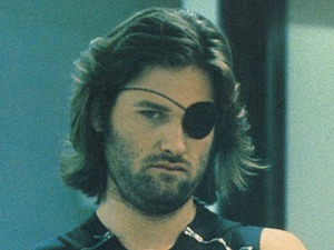 Kurt Russell as Snake Plissken in 'Escape from New York'