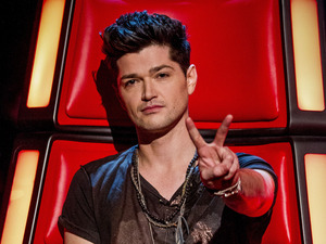 Danny O'Donoghue during the blind auditions of 'The Voice UK' series 2 opening