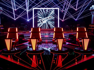 &#39;The Voice&#39; studio