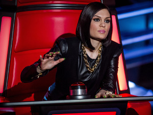 Jessie J during The Voice blind auditions - will she believe her eyes when she turns around?