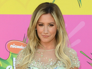 Ashley Tisdale arrives for the Kids Choice Awards.