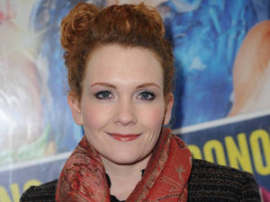 Jennie McAlpine at the Priscilla Queen Of The Desert for the Press Night at the Opera House i February 2013