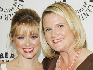 Greer Grammer (left) and Lauren Iungerich (right) - 'Awkward.' season 2 premiere, Los Angeles - June 2012