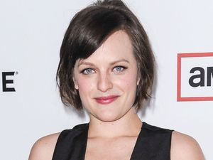 Elisabeth Moss at the premiere of 'Mad Men' season six in Los Angeles