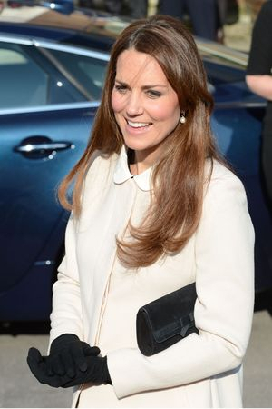 Duchess of Cambridge, Kate Middleton, cream coat,