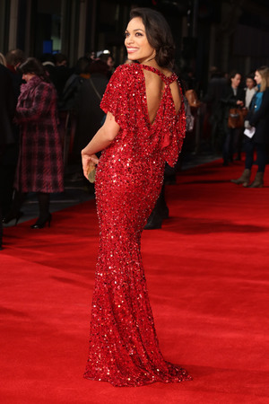 Rosario Dawson, Trance, Jenny Packham gown