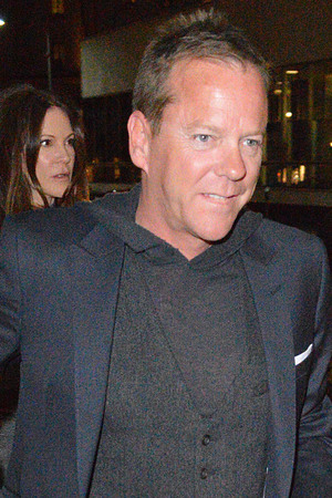 Kiefer Sutherland seen at Mr. Chow Restaurant Beverly Hills.