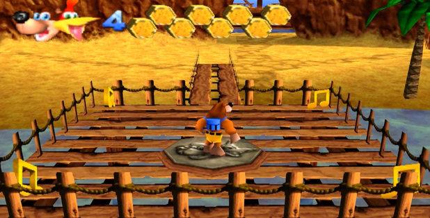 Banjo-Kazooie screenshot