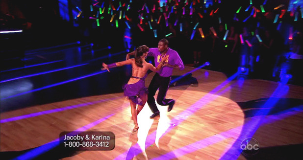 Dancing With The Stars S16E01: Jacoby Jones & Karina Smirnoff