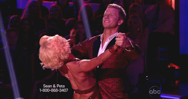 Dancing With The Stars S16E01: Sean Lowe & Peta Murgatroyd
