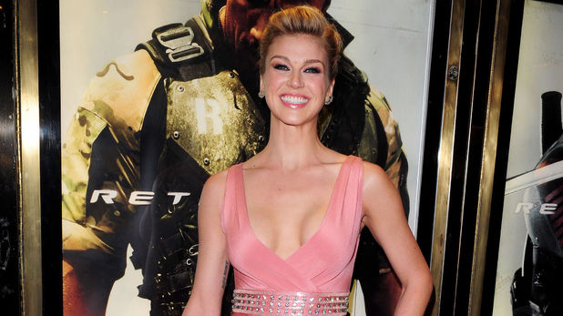 Adrianne Palicki arrives for the UK premiere of GI Joe: Retaliation at the Empire Cinema in London.