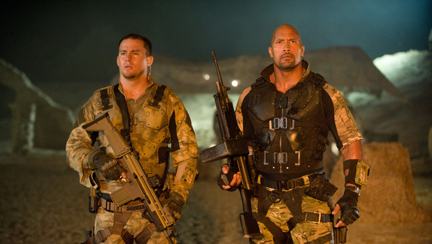 GI Joe Retaliation, Dwayne Johnson, Channing Tatum