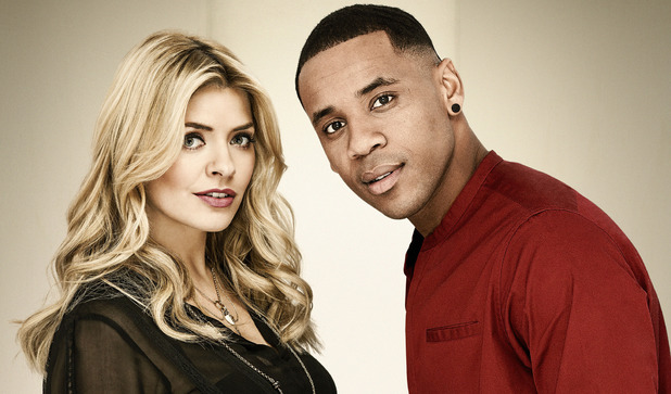 'The Voice UK' presenters Holly Willoughby, Reggie Yates