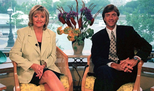 Judy Finnigan and Richard Madeley on 'This Morning' in 1996