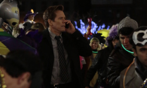 'The Following' (S01E09) 'Love Hurts': Hardy (Kevin Bacon)